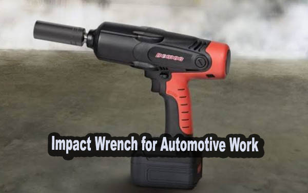 Impact Wrench for Automotive Work